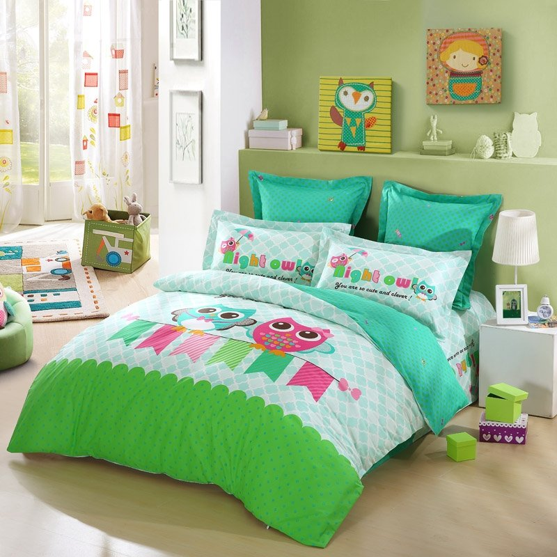 Lime Green And Pink Bedding: Hipster Lime Green Turquoise White And Hot Pink Cute Wild