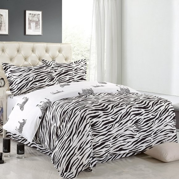 Hipster Black And White Jungle Safari Themed African